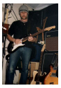 Klaus with Stratocaster!!